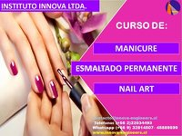 CURSO MANICURE, NAIL ART, ESMALTADO PERMANENTE