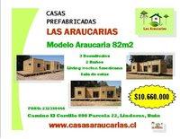 CASA PREFABRICADA DE 82M2 ESTILO MEDITERRANEA
