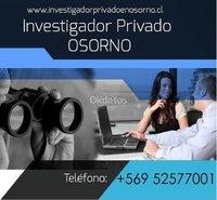 INVESTIGADOR PRIVADO EN OSORNO OFRECE SERVICIOS