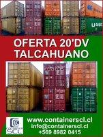 Containers marítimos en Talcahuano