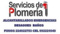 GASFITERIA BAÑOS DESAGUES TINAS ÑUÑOA 992221040