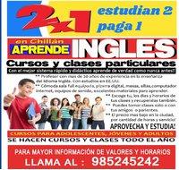INGLES PROMO 2 X 1- APROVECHA!! EL MEJOR RESULTADO