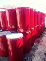 Tambores metalicos para residuo peligroso la negra