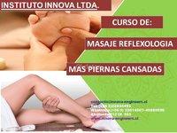 """CURSO DE """"REFLEXOLOGÍA PODAL+ PIERNAS CANSADAS"""