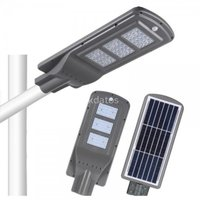 Luminarias poste solar calle 6mts