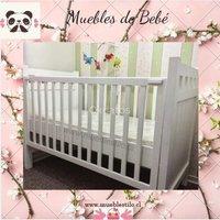 Cuna para bebé Noemí, para colchón 70 x 140