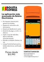 Aplicación Boleta Express, para boleta electrónica