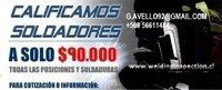 CALIFICACIONES DE SOLDADORES TODO CHILE ENSAYOS ND