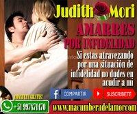 AMARRES POR INFIDELIDAD JUDITH MORI +51997871470 avisos clasificados gratis