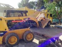 Servicio de retiro de escombros