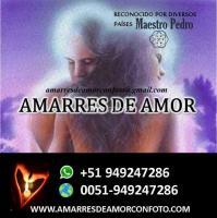 AMARRES DE AMOR CON UNA SOLA IMAGEN MAESTRO PEDRO