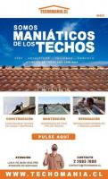 Reparaciones de techo en todo Santiago.