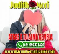 ATRAE A TU ALMA GEMELA JUDITH MORI +51997871470