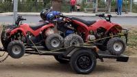 VENDO 2 MOTOS ATV CON CARRO