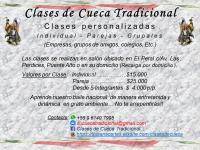CLASES DE CUECA TRADICIONAL
