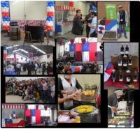 Fiestas patrias, juegos típicos Empresa Santiago