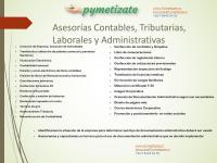 Asesorias Contables, Administrativas, paginas web