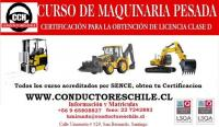 curso de maquinaria pesada excavadora y retro