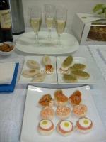 servicio de cocktail fiestas canapes cebiches