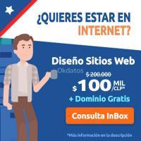 Diseño Web + Hosting y Dominio Gratis