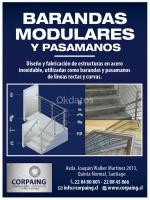 FABRICA DE BARANDAS MODULARES EN ACERO INOXIDABLE