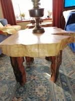 Mesas rústicas ciprés