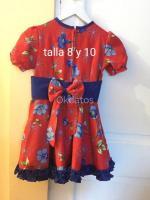 Vestidos de huasita tallas4,6,8 y 10