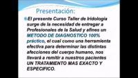 curso profesional de iridologia