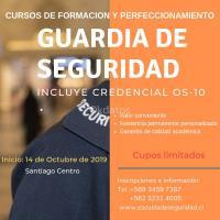 Cursos Guardias de Seguridad con credencial OS-10