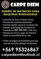 MATRICES BORDADO - SERVICIO DE DISEÑO
