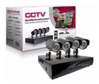 Kit 4 Camaras de seguridad mas DVR