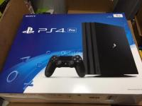 nuevo jet black sony Playstion 4 pro -1TB