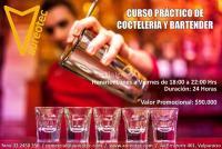 Curso Práctico de Coctelería y Bartender .