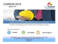 CURSO ISO 45001:2018