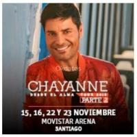 entradas Chayanne - Alma Tour 2019