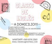 CLASES DE INGLES A DOMICILIO!
