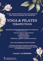 CLASES PARTICULARES DE YOGA Y PILATES TERAPEUTICOS