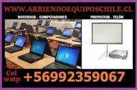 Alquiler Arriendo Computadores Notebook Santiago
