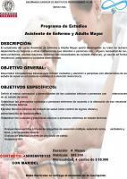 Asistente de Enfermo y Adulto Mayor