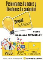 SOCIAL IN MOTION Redes sociales / Paginas web