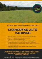 Se venden parcelas en Condominio privad/Valdivia