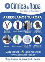 ARREGLOS Y AJUSTES DE TODO TIPO DE ROPA Y CUEROS