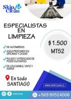 SKIP CLEAN Limpieza de alfombras / hogar / empresa