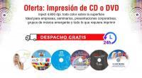 CDs – DVDs Impresión y Grabación