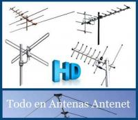 Antena TV/FM, HD para sectores rurales y urbanos