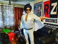 Doble de Elvis animador y cantante
