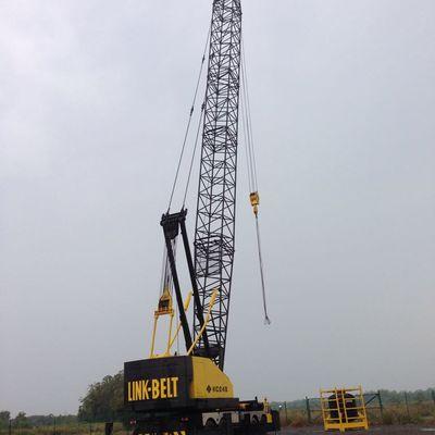136 T Lattice Boom Crane