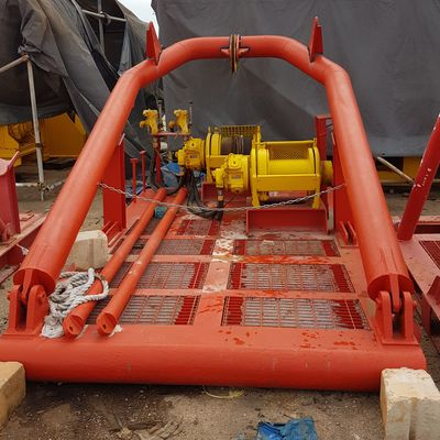 Crosshaul Frame with Air Tugger Winch