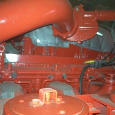 Caterpillar 3512B with fire pumps