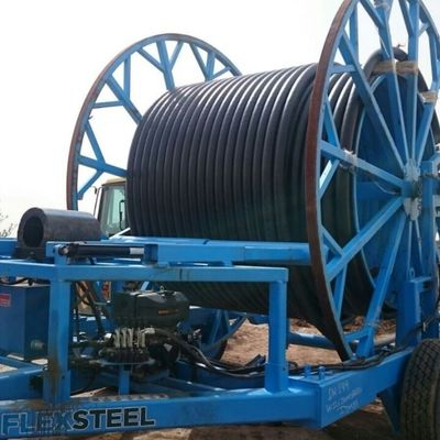 FLEXSTEEL PIPE SWAGE UNIT AND TRAILER